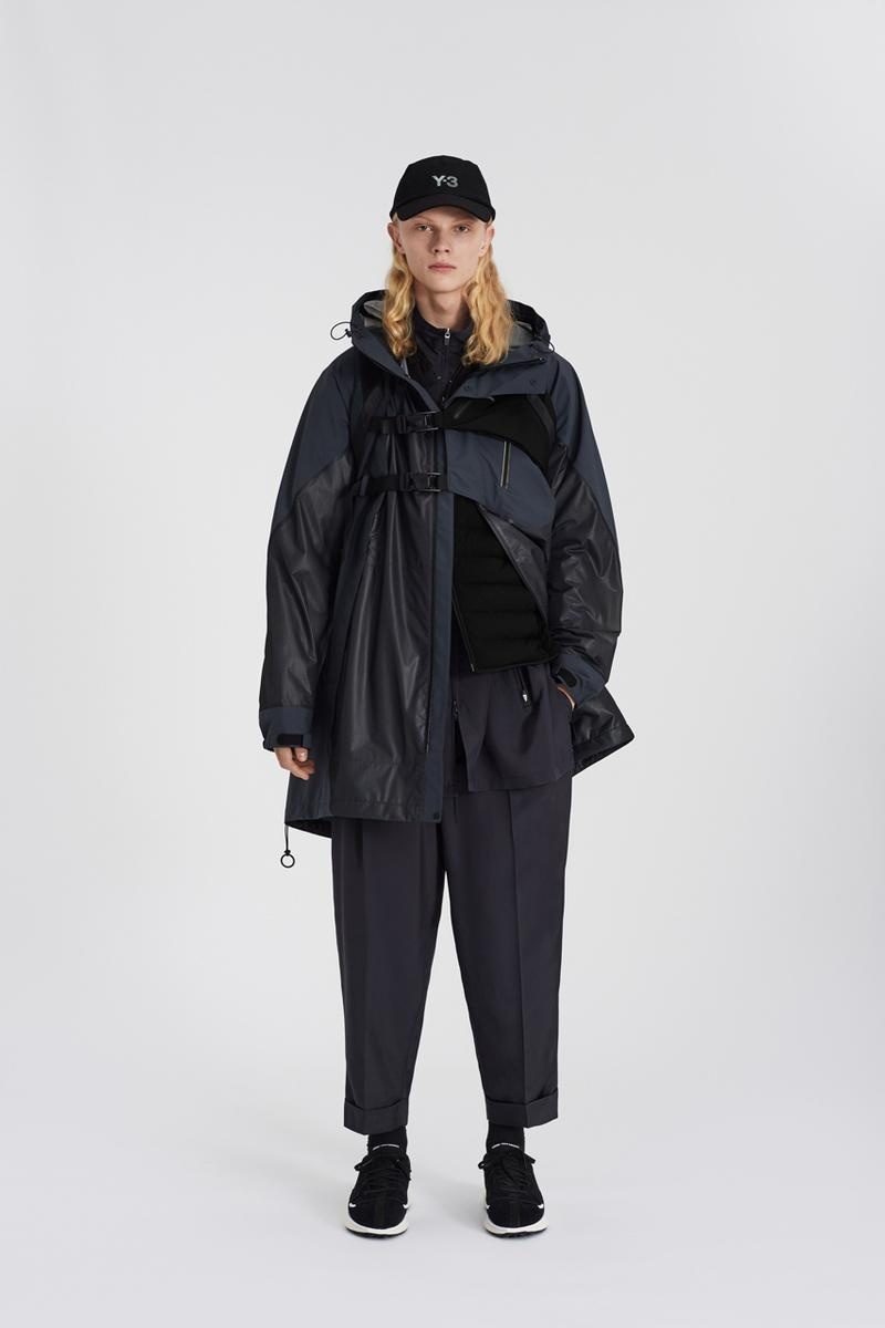 Y-3 Fall/Winter 2020 Collection Lookbook fw20 yohji yamamoto adidas mens womens