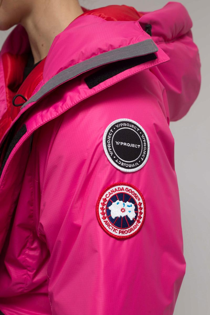 Y/Project x Canada Goose FW20 Collaboration Collection fall winter 2020