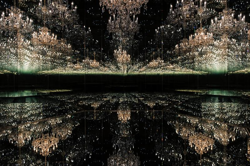 Tate Modern 20th anniversary Yayoi Kusama Infinity Rooms Mirrored Filled With the Brilliance of Life Chandelier of Grief Louise Bourgeous Maman information details exhibition tickets buy order