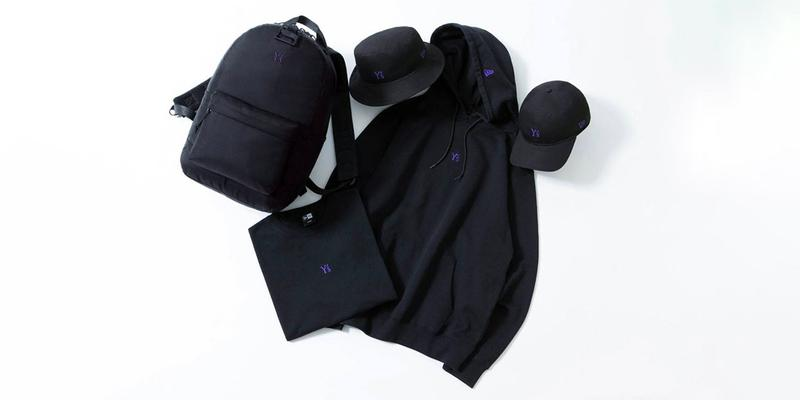 Yohji Yamamoto Y's x New Era SS20 Capsule Collaboration spring summer 2020 hat backpack shirt hoodie