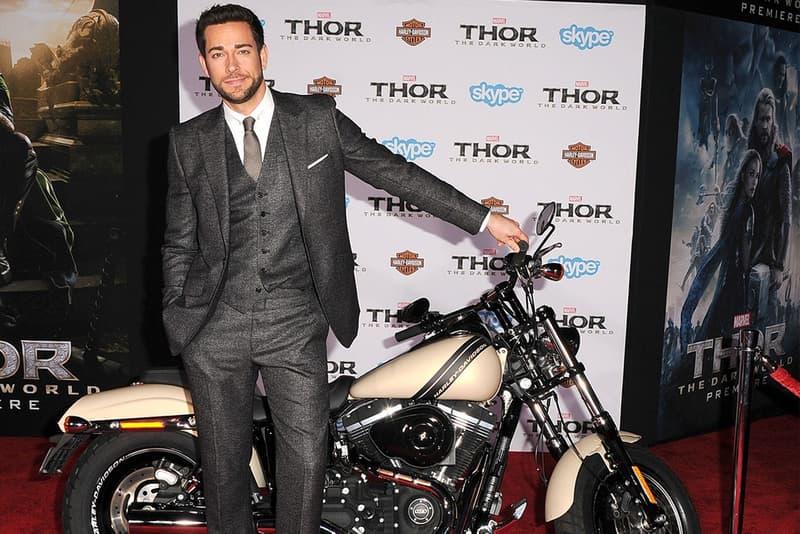 zachary levi chuck shazam motorcycles harley davidson livewire electric bike motor