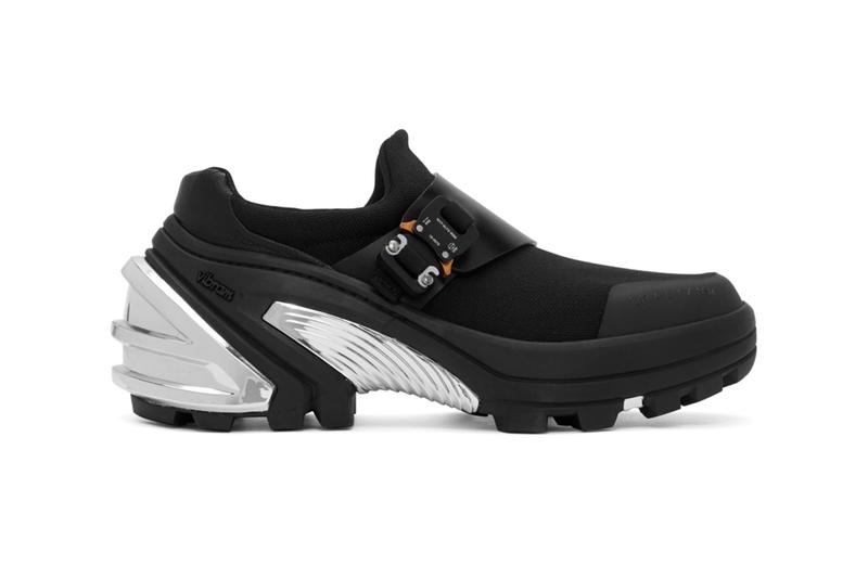 1017 ALYX 9SM Sock Low Sneakers Release Black Info Buy Price Buckle