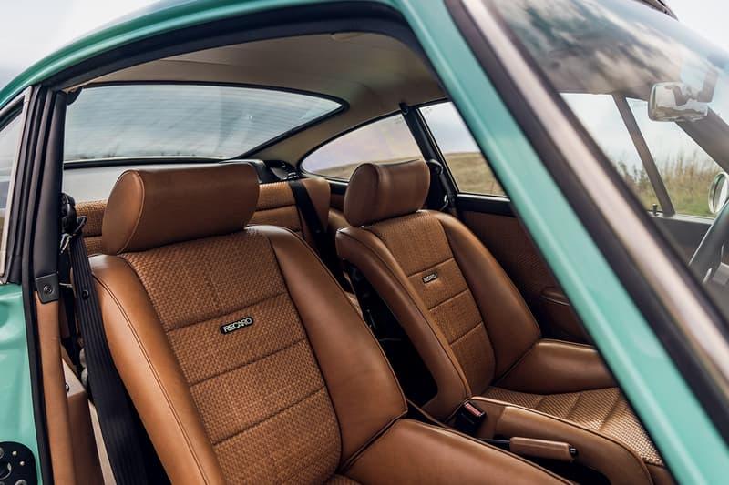 "1991 Porsche 911 ""Malibu"" Reimagined by Singer RM Sotheby's Auction $875,000 USD For Sale Custom Rework Vintage German Sportscar Supercar Classic ""Mintarrini"" Colorway 4.0-liter engine Fuchs Wheels Rims Ed Pink Racing"