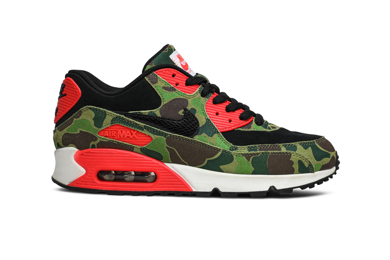 GOAT Celebrate Nike Air Max Day 2020 Sneaker 90 2090 270 720 Infrared Duck Camo atmos