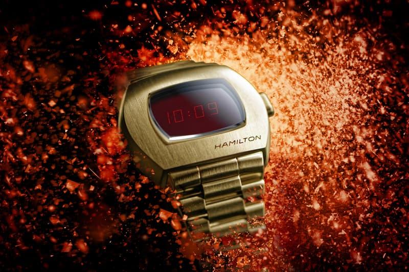 Hamilton World's First Digital Watch new technology the PSR Launch Pulsar