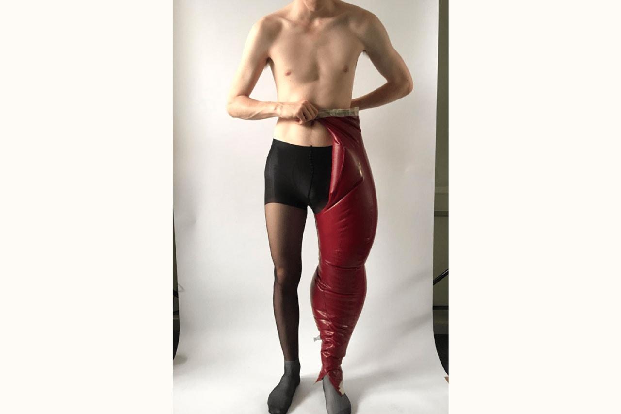 Harikrishnan Inflatable Pants Designer Interview london college fashion feature trousers lookbook