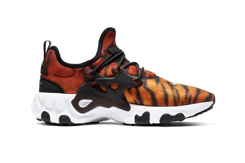 Nike React Presto Premium Pistachio Frost Spring New Colorway Magma Orange Sky Grey