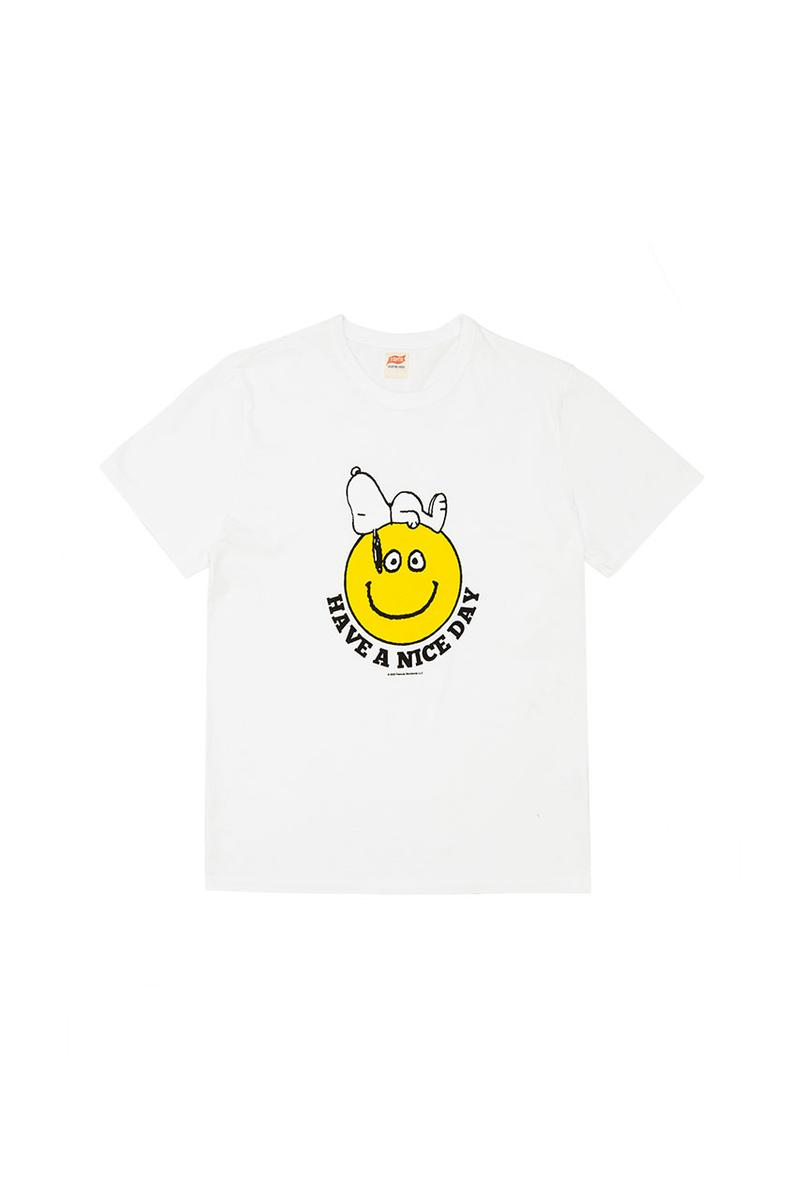 "Snoopy x TSPTR 1970s California-Inspired Collection Retro Themes Cartoons Hobos Surfers LA Classic Designs Music Yacht clubs Beach Bums Communes T-shirt Capsules Colors Vintage ""Truth, Symmetry, Pleasure, Taste, and Recognition"""
