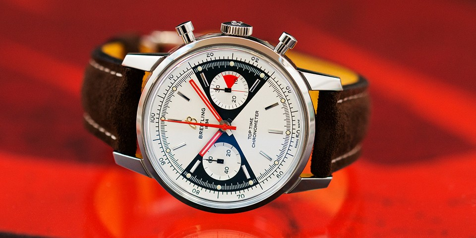 Breitling Revamps Its 55-Year-Old