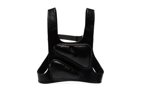 A-COLD-WALL* Unveils Sleek Black Leather Harness Bag