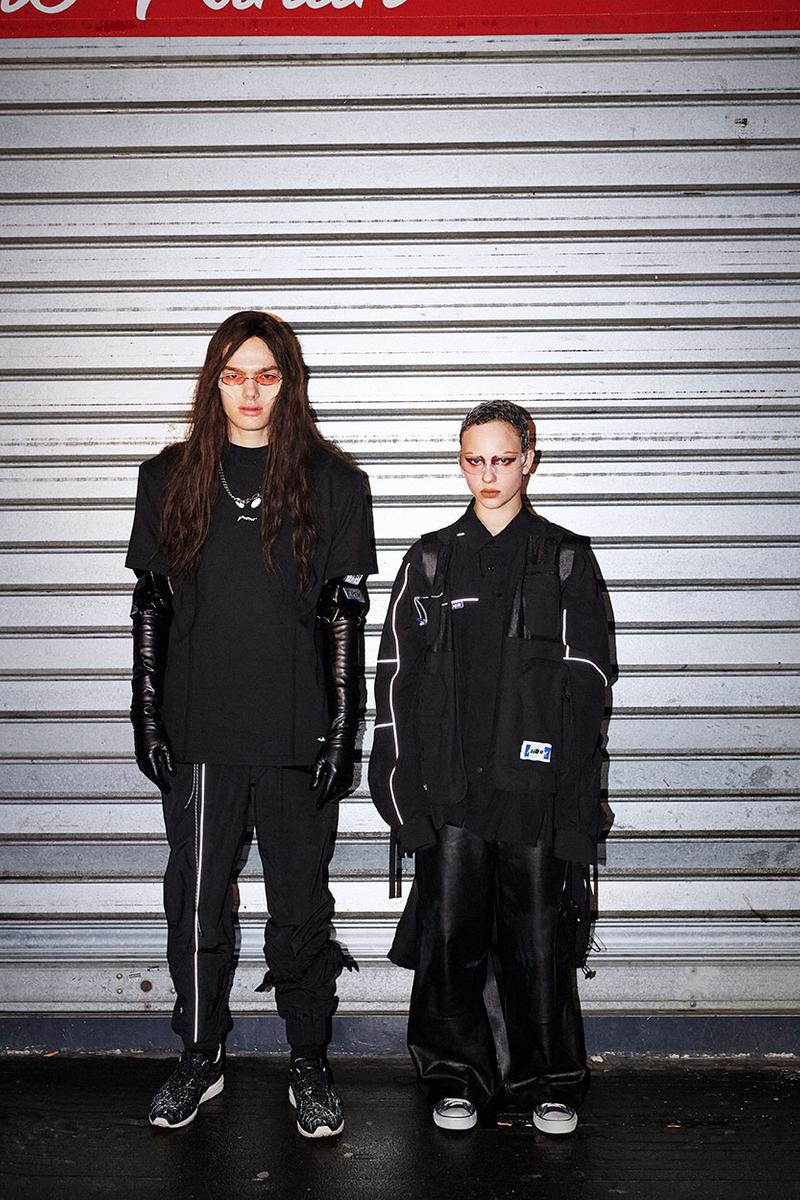 """ADER error Spring/Summer 2020 """"Vader"""" Collection Lookbook Release Information Campaign Imagery Alien Mystery Human Race T-shirts Formal Shirts 'Space Invaders' game"""
