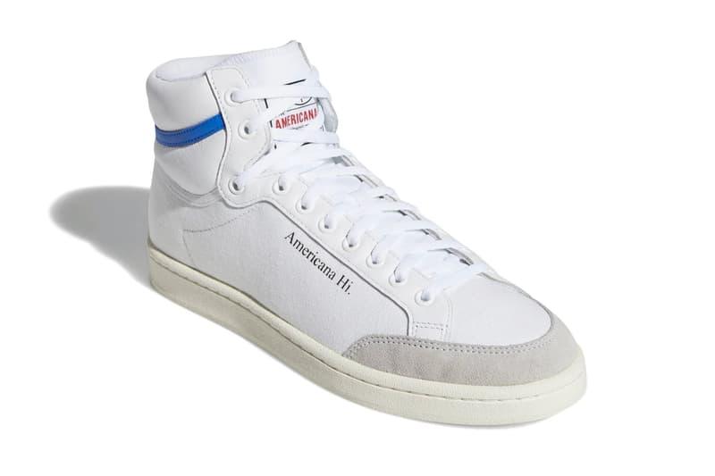 adidas Americana Glory Blue Red Release basketball adidas shoes kicks footwear USA ABA NBA sports retro vintage