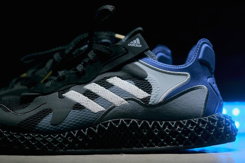 adidas Consortium EVO 4D Friends & Family Paris Fashion Week Randy Galang Ryle Justin Uy PFW FW20 Three Stripes Printed Technology OG UltraBOOST 1.0 Upper Black Sole Unit Closer Look Release Information Drop Date Footwear Sneakers