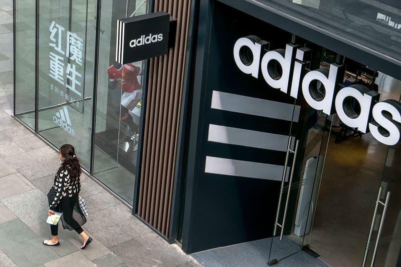 adidas $1 Billion USD Chinese Sales Hit Coronavirus puma nike shares stocks price decline fall COVID-19