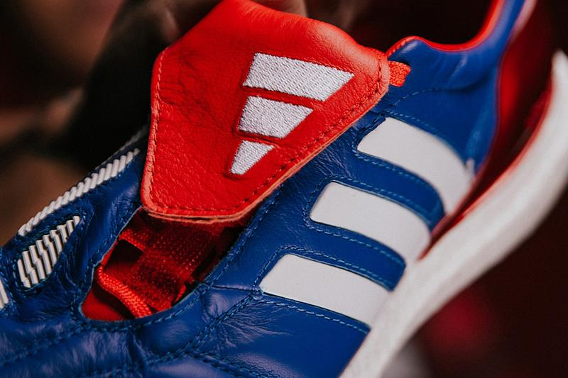 "adidas Predator Mania TR ""Royal Blue"" Release Information Closer Look BOOST Sole Unit Terrain Football Soccer Japan Blue 2002 World Cup Three Stripes"