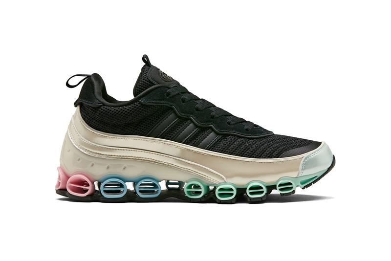 adidas microbounce t1 bounce FW9785 core black cream white pink green blue pastel release date info photos price