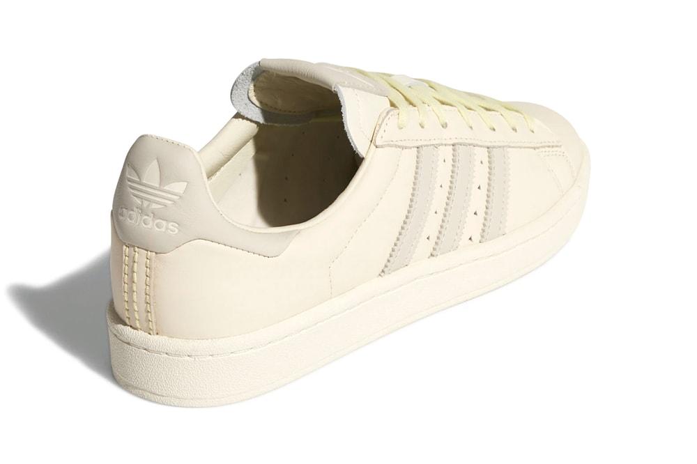 Pharrell williams adidas originals spring summer 2020 campus sc premiere Ecru Tint Cream White Clear Brown FX8025 FX8019 release information buy cop purchase