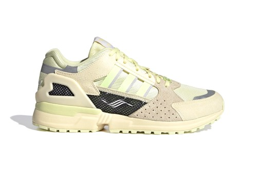 """adidas Originals Preps for Spring With ZX 10000 C """"Yellow Tint"""""""