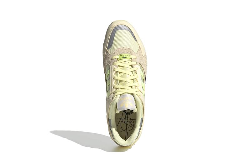"adidas Originals ZX 10000 C ""YELLOW TINT/HI-RES YELLOW/EASY YELLOW"" Three Stripes Torsion OG 1980s '90s Footwear Sneaker Release Information Drop Date"