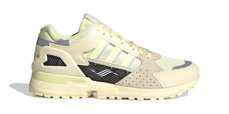 """adidas Originals ZX 10000 C """"YELLOW TINT/HI-RES YELLOW/EASY YELLOW"""" Three Stripes Torsion OG 1980s '90s Footwear Sneaker Release Information Drop Date"""