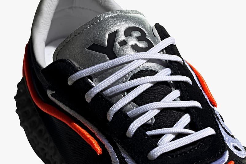 adidas y3 yohji yamamoto ss20 swim collection 4d runner black solar orange silver metallic footwear white FU9208 FU9207 release date info photos price