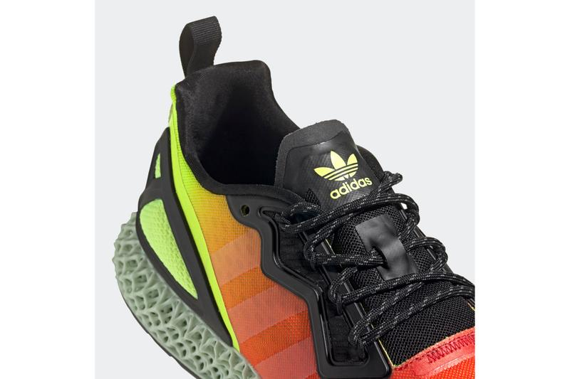 grava Adjuntar a no se dio cuenta  adidas ZX 2K 4D in Heatmap-Inspired Colorway Surfaces | HYPEBEAST