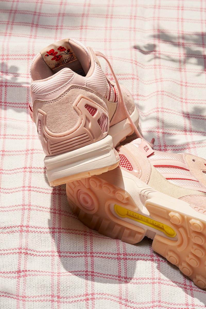 "adidas ZX 8000 ""Kirschblütenallee"" Pack pink red grey flowers cherry blossom berlin japan release information hanami yozakura buy cop purchase FU7308"