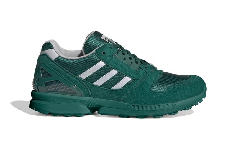adidas ZX 8000 Collegiate Green Release Info  footwear kicks sneakers trainers three stripes torsion FV3269
