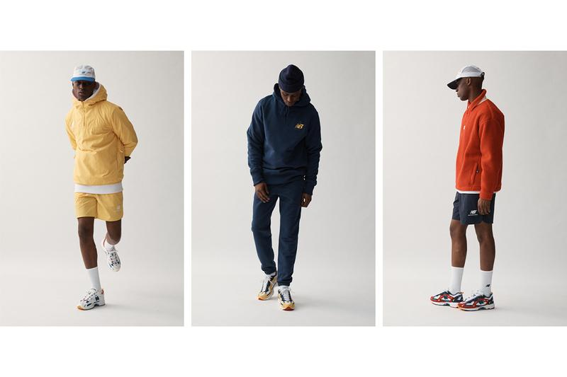 Aimé Leon Dore x New Balance SS20 Apparel Collaboration spring summer 2020 running clothing sneakers 827 release date info march 13
