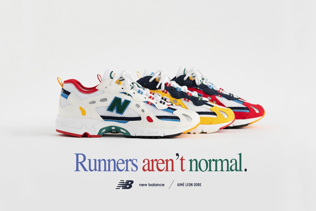 Aimé Leon Dore x New Balance 827 Closer Look HYPEBEAST Exclusive Editorial Footwear Sneakers Drop Teddy Santis Spring/Summer 2020 SS20 New York ALD Branding Color Blocking