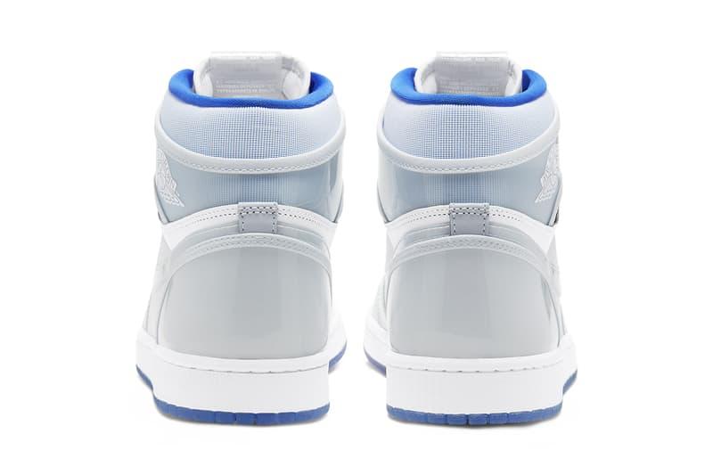 air Jordan 1 high zoom air racer blue white grey CK6637 104 release date info photos price