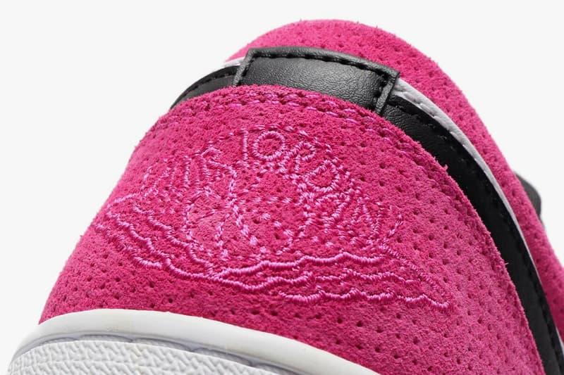 air jordan 1 low actie fuchsia black white ck3022 005 release date info photos price