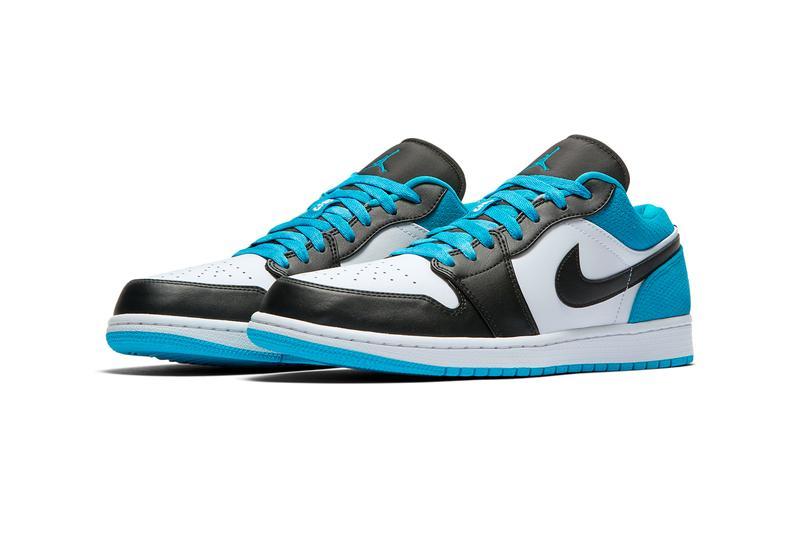 air jordan 1 low se black laser blue white CK3022 004 release date info photos price nike sb dunk high send help phat se 2009 sneakers shoes