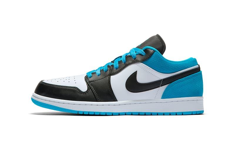light blue and black air jordan 1