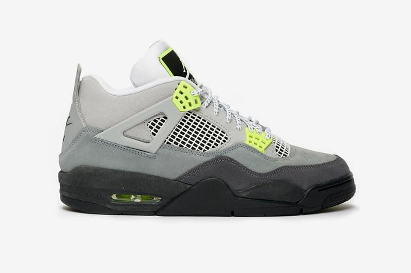 Air Jordan 4 Neon Air Max 95 Release Date Nike AM95 Sneaker Sneakers Jumpman Brand Retro Running Basketball Michael Jordan Nike HYPEBEAST Footwear Drop Ct5342-007