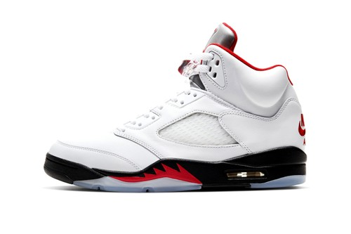 """Take an Official Look at the Air Jordan 5 """"Fire Red"""""""