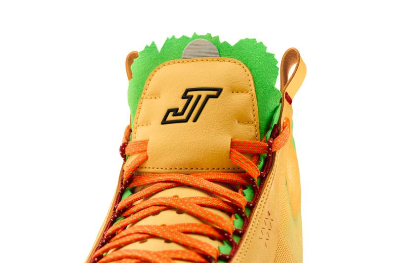 Air Jordan brand 34 Taco Jay PE First Look jason taytum boston celtics