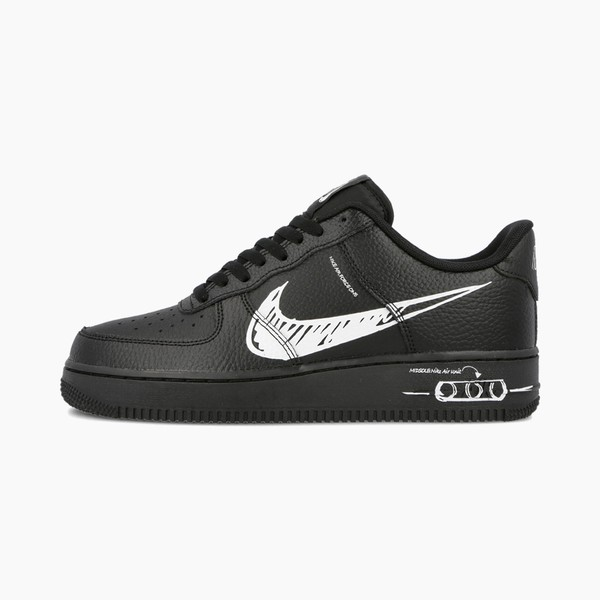 "Nike Air Force 1 ""Sketch"" Black/White"