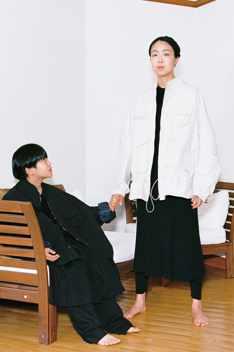 "AJOBYAJO SS20 ""PERFECT WORLD"" Editorial fashion clothing Korea Seoul designer lookbooks creatives"