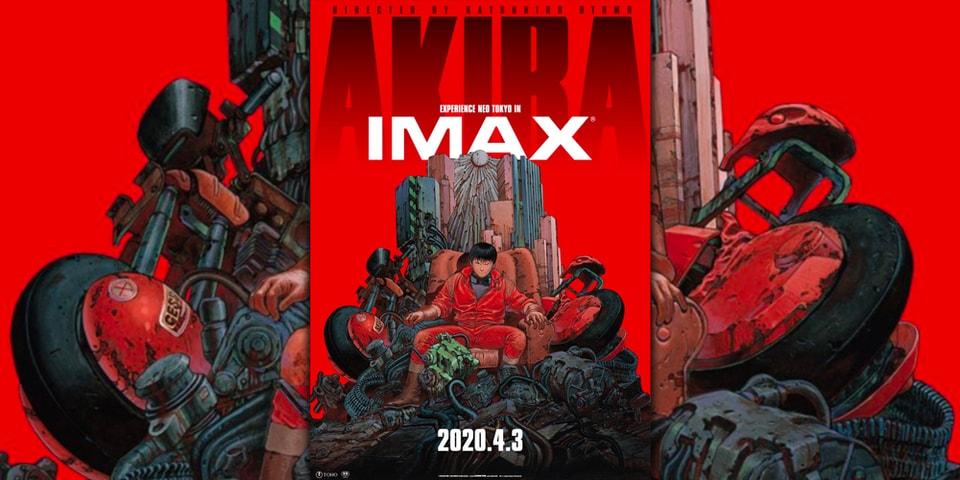 Akira 4k Imax Theater Release New Poster Hypebeast