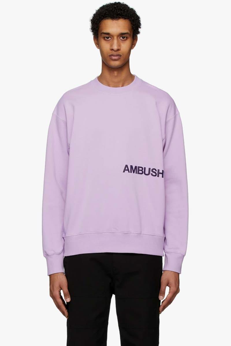 ambush SSENSE Exclusive Silver Large Lighter Case Necklace bunny chain white fire logo tshirt tee purple new sweatshirt pink logo hoodie