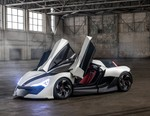 APEX Unveils Super-Lightweight AP-0 Electric Supercar Concept