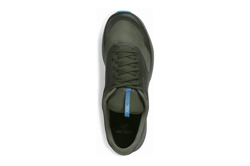 Arc Teryx Norvan LD 2 GTX Trail Runners Hydroponic Spiral black triple black canadian footwear shoes sneakers trainers menswear streetwear spring summer 2020 collection trek hiking