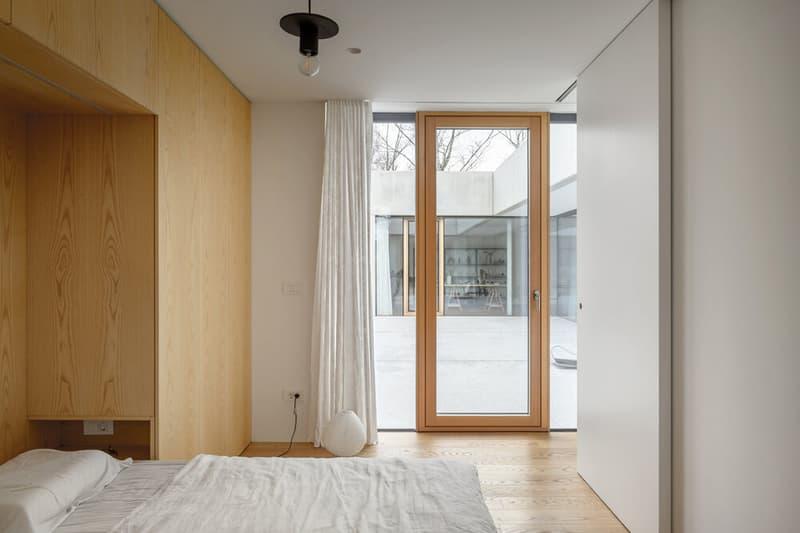 Arhitektura House for a Ceramic Designer Slovenia Atrium House Design Office for Urbanism and Arhictecture Ljubljana