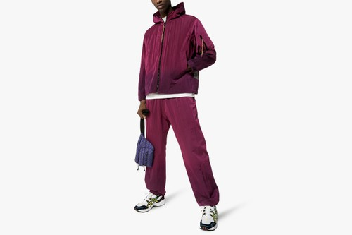 Aries Levels up Loungewear With Ombré-Dyed Windbreaker Jacket & Track Pants