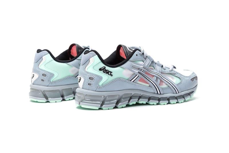 ASICS GEL Kayano 5 360 Grey Mint Tint 021A196 020 menswear streetwear shoes sneakers footwear trainers runners spring summer 2020 collection kicks gel technology cushioning