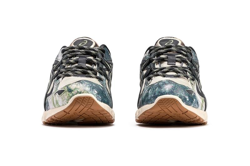 ASICS Gel Kayano 5 KZN Tree Camo menswear streetwear shoes sneakers footwear kicks trainers runners running spring summer 2020 collection japanese technical gel technology