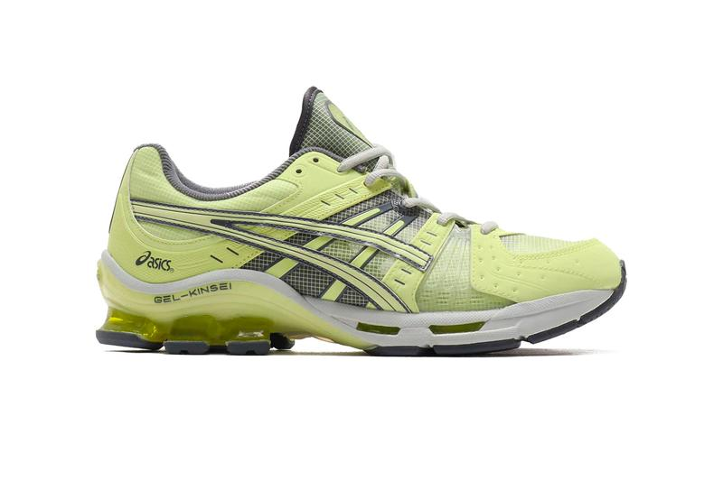 ASICS GEL-Kinsei OG Yellow Release atmos Japan Tokyo lime green bright shoes sneakers kicks footwear trainers style