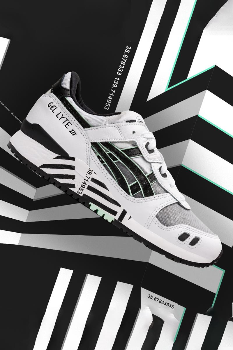 asics gel lyte 3 barcode black white 1191A336 001 release date info photos price