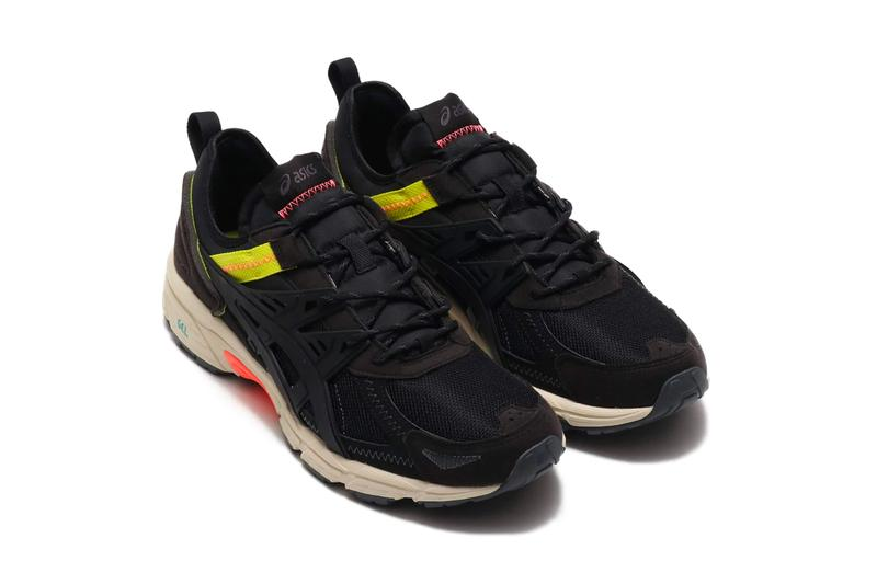 ASICS GEL Venture Re Beige BCH Black Bk shoes footwear sneakers menswear streetwear trainers runners kicks spring summer 2020 collection japanese sportswear athletic 1021a410 200 1021a410 001